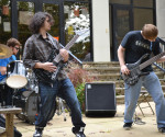 Christian Lamb, Patrick West, and David Muss, make up the band Under Eternal Skies, which was formed Fall 2010.