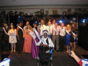 Cabrini Spirit, Simon Says, talent and questions were the categories of this years Cabrini pageant.  At the end of all of that the winners Lauren Bariglio and  Matt Stewart were crowned as the 2011 Mr. and Miss Cabrini.