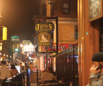 Known for their deicious cheesesteaks, Jon's Bar and Grille also offers over 80 bottled beers.