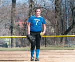 Junior pitcher Marcelle Crist has a 4-3 record and a 6.23 ERA through seven games this season for the Cavaliers. -- Cabrini College Athletics Department / Submitted photo