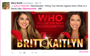 """Creative Commons The new season of """"The Bachelorette"""" will feature two contestants. Is this a sexist and ridiculous way to garner more viewers?"""