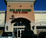 Creative Commons Fox and Hound Restaurant and Bar is located in the KOP shopping center.